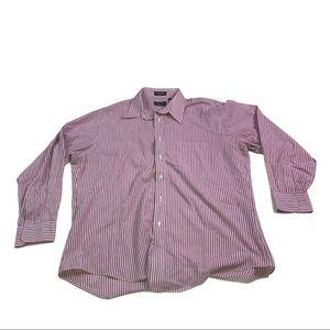 Vintage Christian Dior striped button up shirt